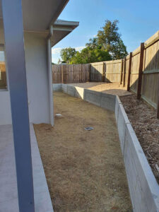 Conifer House Backyard