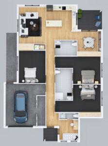Conifer House Floorplan